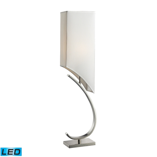 D2005-LED Appleton Table Lamp - Polished Nickel