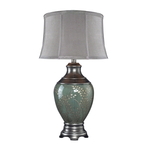 D2056 Westvale Table Lamp - Pinery Green