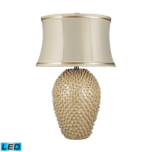 D2112-LED Pineville Table Lamp - Pearlescent Cream