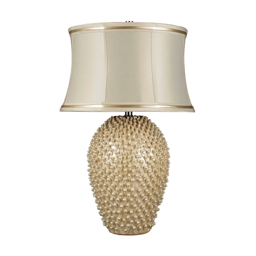 D2112 Pineville Table Lamp - Pearlescent Cream