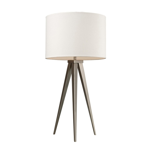 D2122 Salford Table Lamp - Satin Nickel