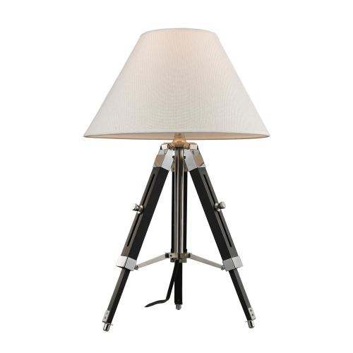 D2125 Studio Table Lamp - Chrome and Black