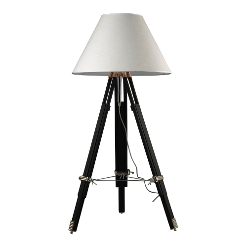 D2127 Studio Floor Lamp - Chrome and Black