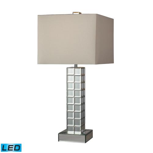 D2165-LED Luella Table Lamp - Clear