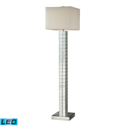D2166-LED Luella Floor Lamp - Clear