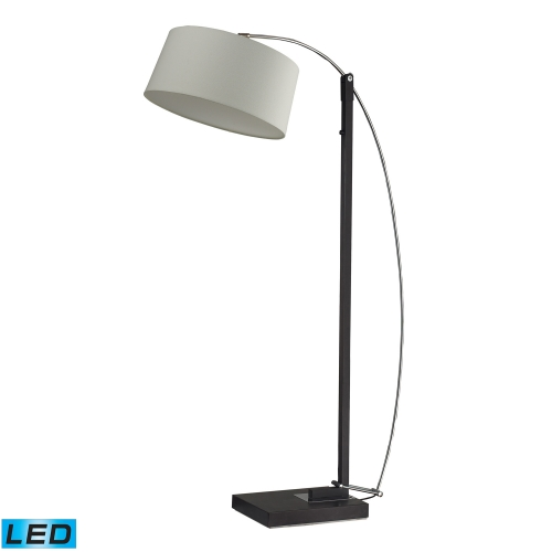D2183-LED Logan Square Floor Lamp - Dark Brown