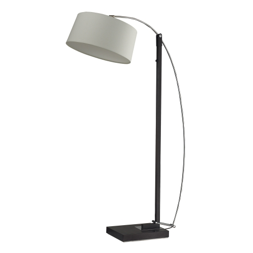 D2183 Logan Square Floor Lamp - Dark Brown
