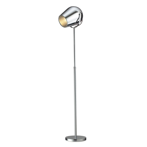 D2190 Champlain Floor Lamp - Chrome
