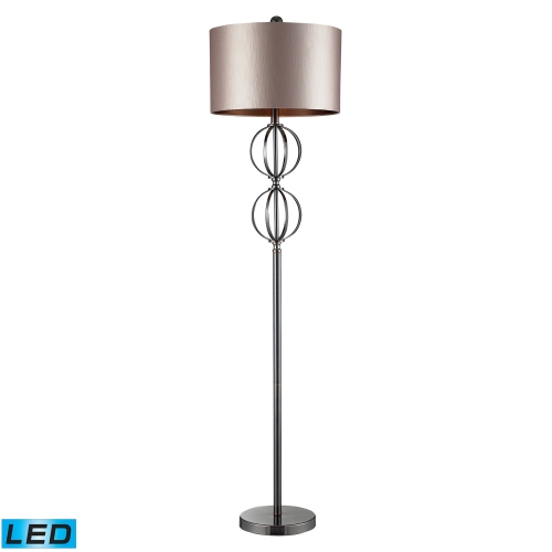 D2223-LED Danforth Floor Lamp - Coffee Plating