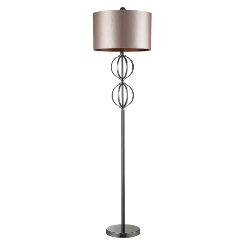D2223 Danforth Floor Lamp - Coffee Plating