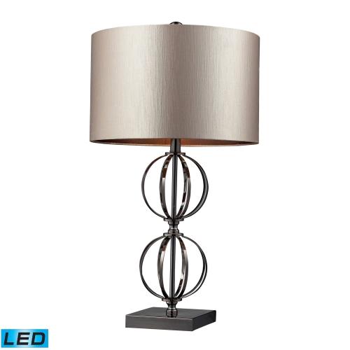 D2224-LED Danforth Table Lamp - Coffee Plating