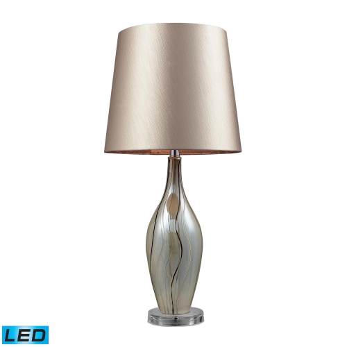 D2257-LED Etna Table Lamp - Painted Ribbon