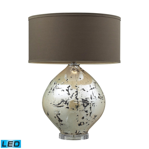 D2262-LED Limerick Table Lamp - Turrit Gloss Beige