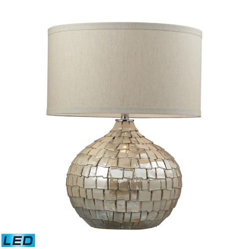 D2264-LED Canaan Table Lamp - Cream Pearl