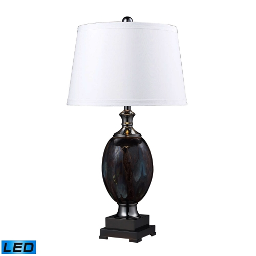 D2273-LED Annan Table Lamp - Galaxy / Black Nickel