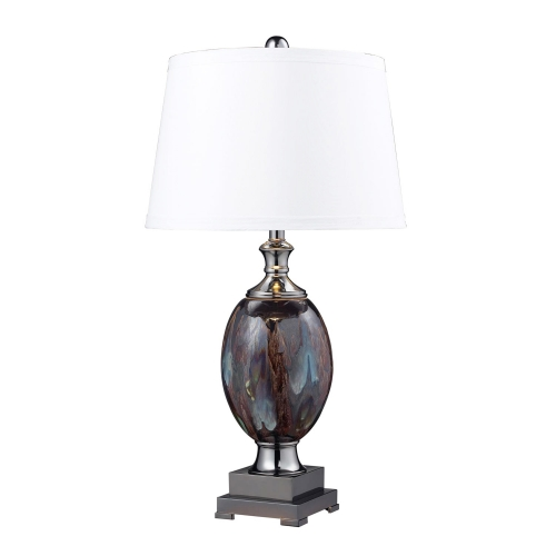 D2273 Annan Table Lamp - Galaxy / Black Nickel