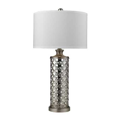 D2313 Medford Table Lamp - Brushed Nickel