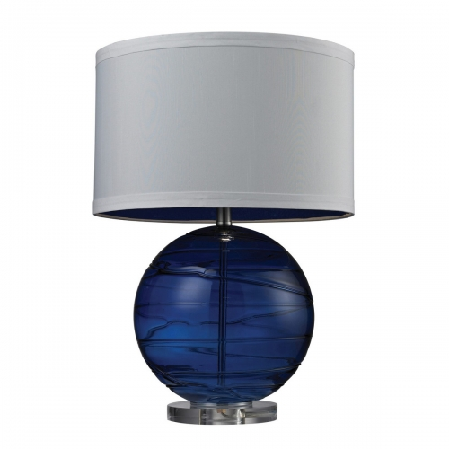 D242 Table Lamp - Sapphire