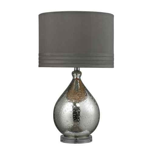 D252 Table Lamp - Mercury Glass