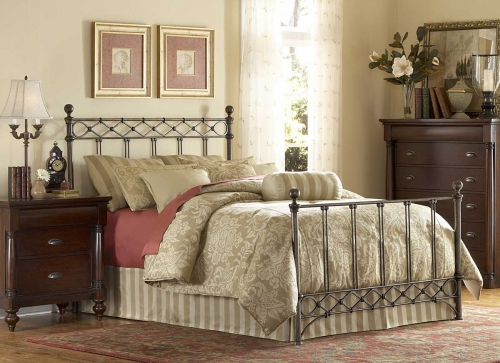Argyle Bed-Copper Chrome
