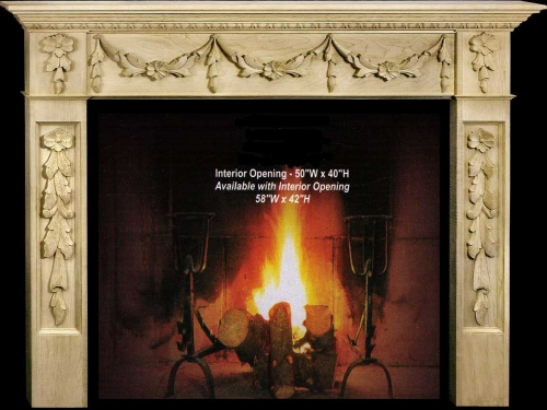 Isabella Fireplace Mantel Collection-CVH Int