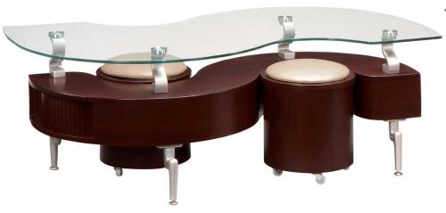 288 Coffee Table - Mahogany