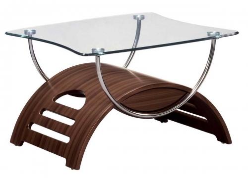 63 End Table - Mahogany