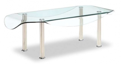 CB020 Coffee Table - Clear Glass