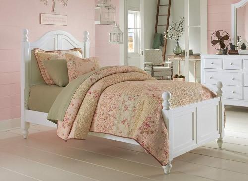 NE Kids Lake House Payton Arch Bed - White