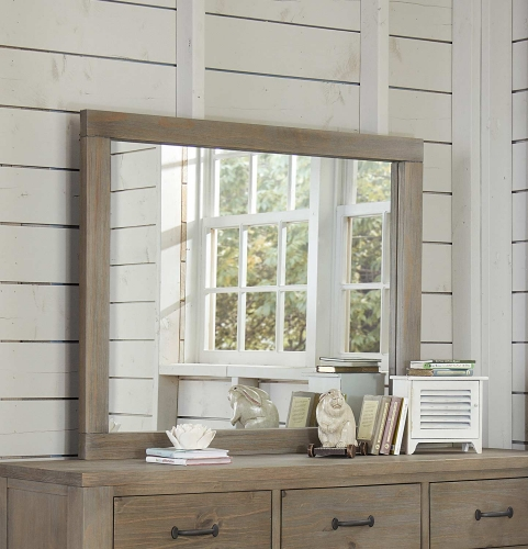 NE Kids Highlands Mirror - Driftwood