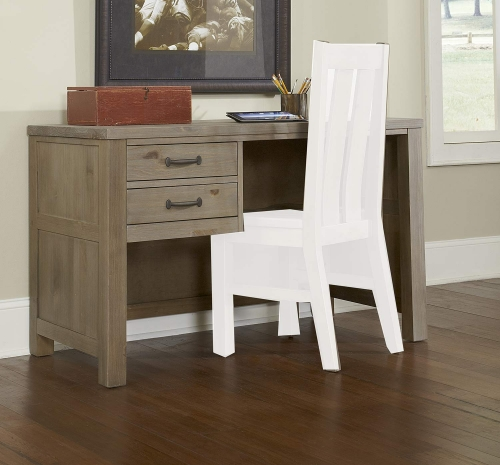 NE Kids Highlands Desk - Driftwood