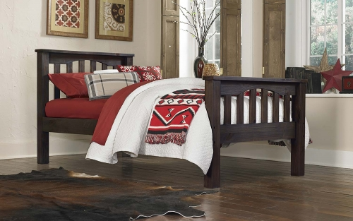 NE Kids Highlands Harper Bed - Espresso