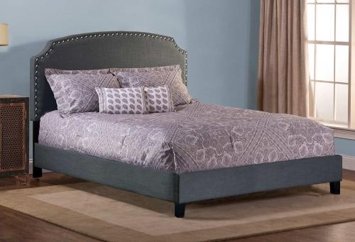 Lani Bed - Linen/Gray