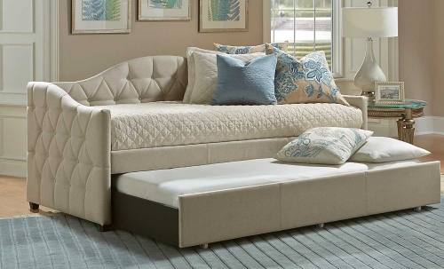 Jamie Daybed with Trundle - Beige