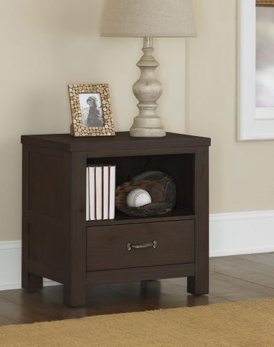 NE Kids Highlands Nightstand - Espresso