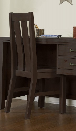 NE Kids Highlands Desk Chair - Espresso