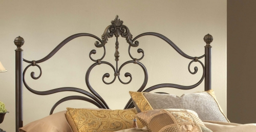 Newton Headboard - Antique Brown Highlight