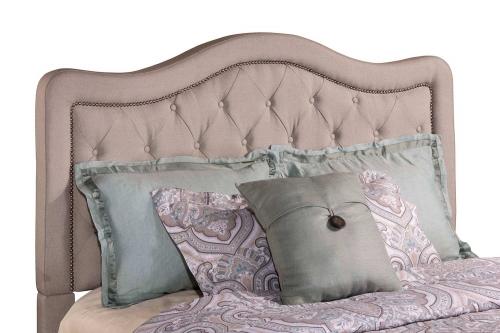 Trieste Tufted Upholstered Headboard - Dove Gray Linen