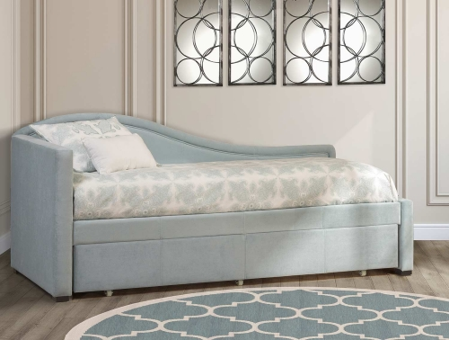 Olivia Daybed with Trundle - Spa/Aqua Blue