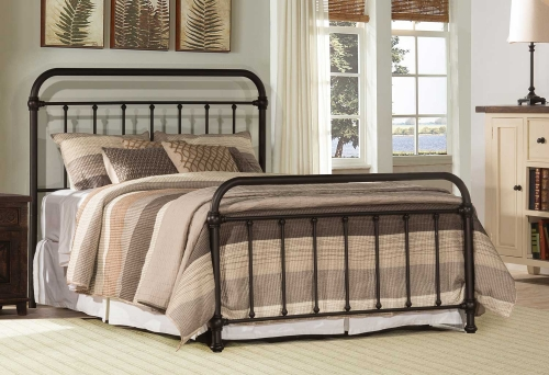 Kirkland Bed - Dark Bronze