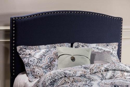 Kerstein Headboard - Navy Linen