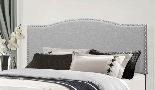 Kiley Headboard - Glacier Gray Fabric