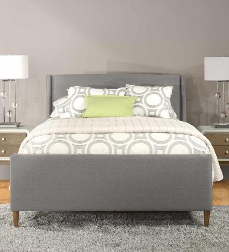 Denmark Bed - Linen Charcoal