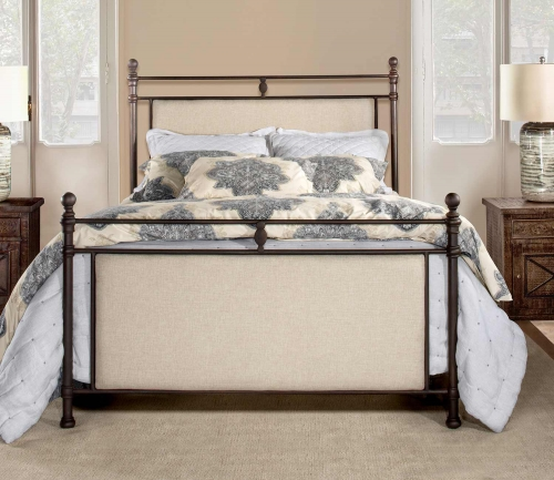 Ashley Bed - Rustic Brown