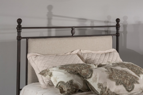 Ashley Headboard - Rustic Brown