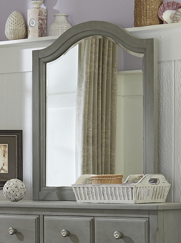Lake House Arched Mirror - Stone