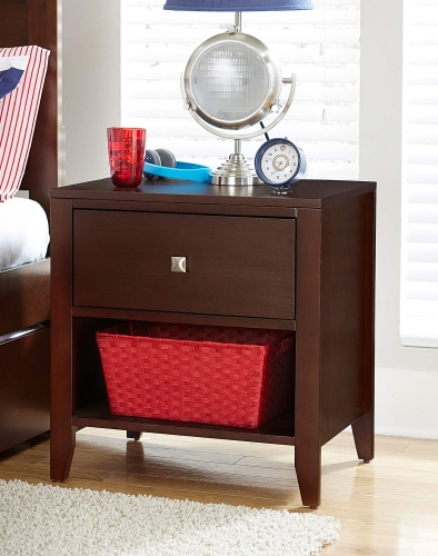 Pulse Nightstand - Cherry