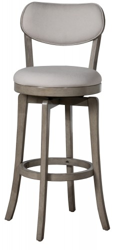 Sloan Swivel Counter Height Stool - Aged Gray
