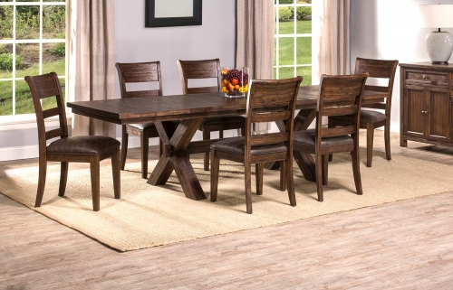 Park Avenue 7-Piece Dining Set - Walnut