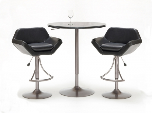 PTBGV Valencia Adjustable Table and Bar Stool Set 419 2640